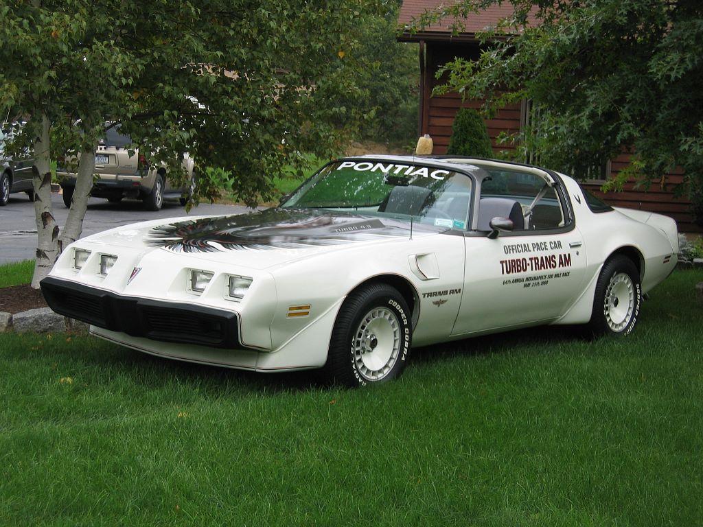 1980 L E Indy Pace Car Turbo Trans Am Lot 1
