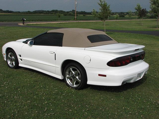 Gene Vegter Owns This Convertible Trans Am Writes